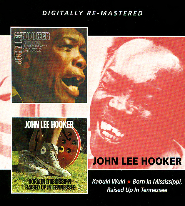 Джон Ли Хукер John Lee Hooker. Kabuki Wuki / Born In Mississippi, Raised In Tennessee (2 CD) джон ли хукер john lee hooker cook with the hook 2 cd dvd