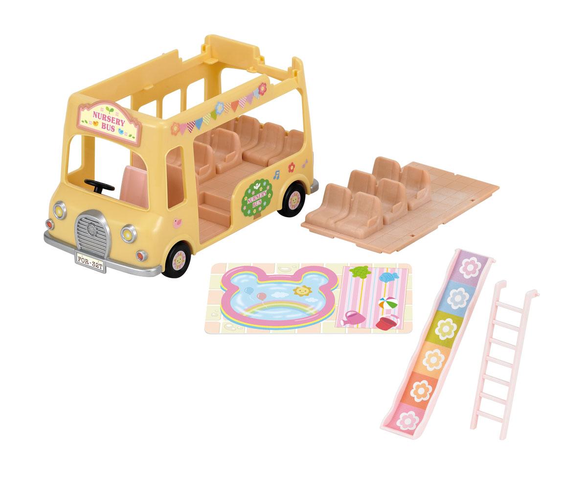 Sylvanian Families Игровой набор Двухэтажный автобус для малышей набор пекарня sylvanian families