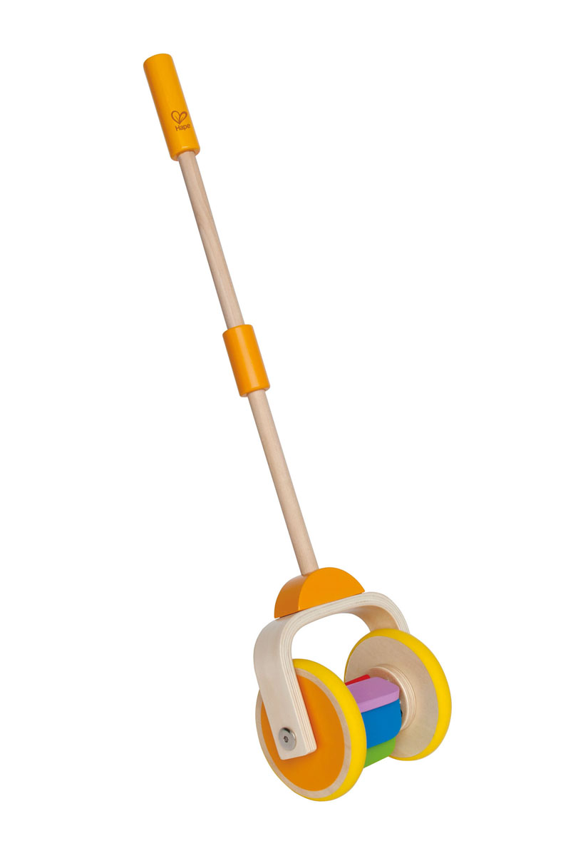 Фото - Деревянная игрушка-каталка Hape Радуга hape ксилофон радуга