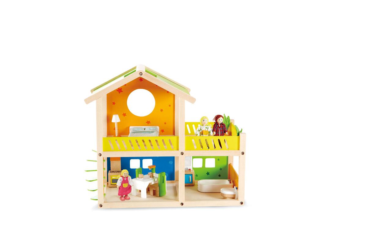 Hape Игровой набор Кукольный домик дом кукольный из дерева