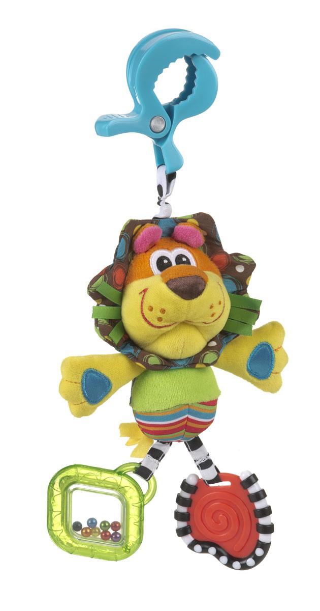 Игрушка-подвеска Playgro Львенок погремушки playgro мягкая игрушка подвеска мышка