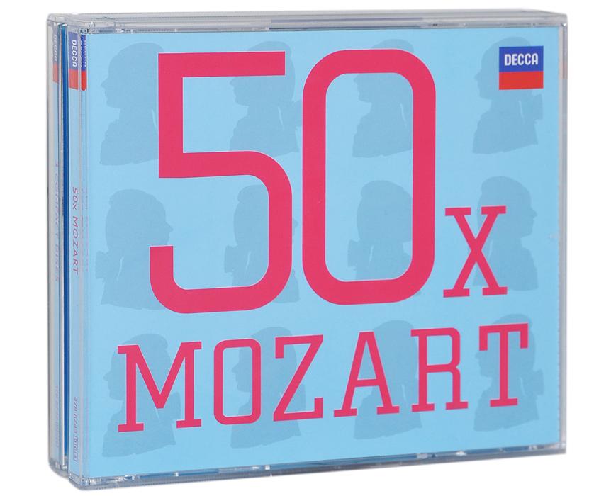 50 x. Mozart (3 CD)