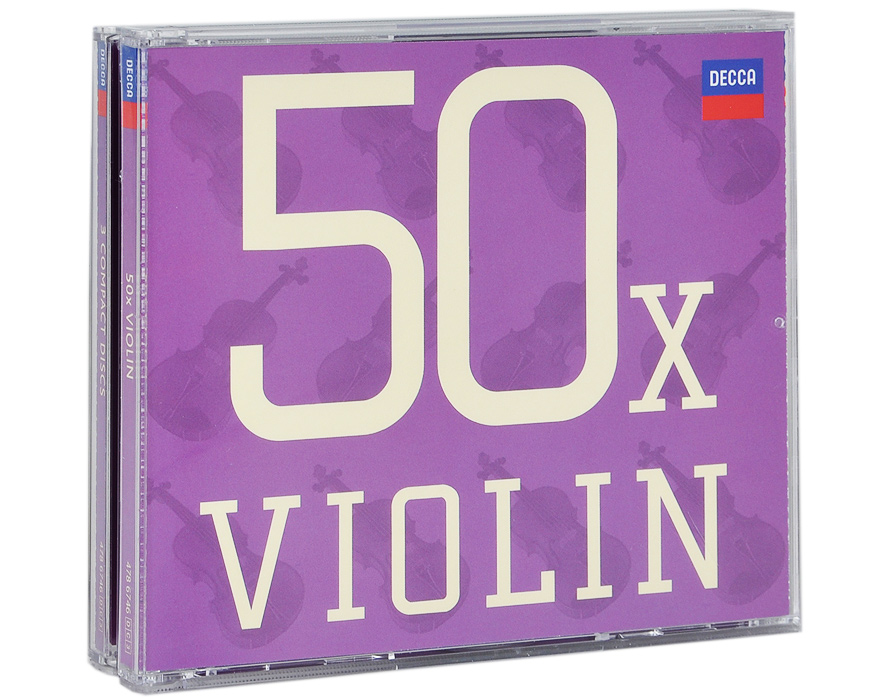 Содержание:   CD 1: 50 x. Violin Antonio Vivaldi 01. Le Quattro Stagioni - Concerto No.1 In E Major