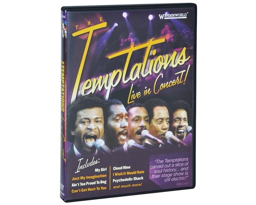 The Temptations: Live In Concert magnum live in concert