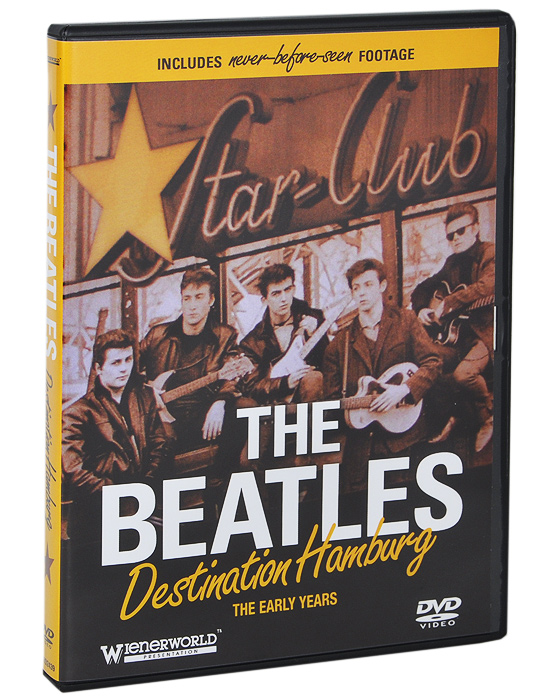 From the formation of the Quarrymen in 1957 and The Beatles early years in Hamburg, this documentary uses contemporary film and recently rediscovered and restored footage to tell the definitive story of The Beatles, their rise to international stardom and their crowning as one of the most successful bands of all time. Containing rare and exclusive interviews from those who knew them best and featuring the musical recordings of Tony Sheridan, an early collaborator of The Beatles, Destination Hamburg is a 'must have' DVD for all Beatles fans.