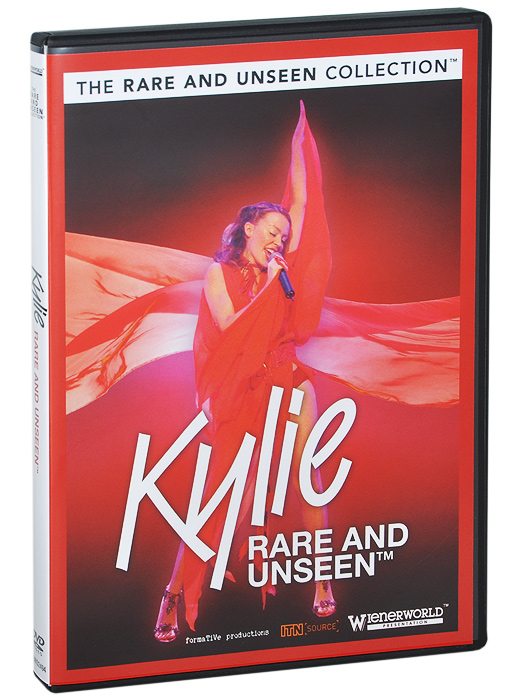 The next title in our Rare and Unseen series looks at the Australian singer and actress Kylie Minogue. Starting her career at the tender age of eleven on Australian television, she achieved recognition through her role in the television soap opera Neighbours, before commencing her career as a recording artist in 1987. Her first single, ''Locomotion'', spent seven weeks at number one on the Australian singles chart and became the highest selling single of the decade. She has released nearly a dozen albums, has achieved worldwide success and is especially popular in Australia and the UK. Told through missing-believed-wiped archive interviews and rare and unseen footage of the singer talking, this insightful DVD is a worthy addition to any Kylie collection. Items genuinely unseen and never before on DVD including film from the ITN archive. Includes lost and now restored TV interviews from the past and rare film of the singer talking about her career. A must for the die-hard fan! Featuring: Australian interview with 21 year old Kylie // British TV interviews from the 80 s, 90 s and 2000 s // Ghost Train children s show thought wiped, now restored // Talking about The Delinquents, Moulin Rouge, Magic Roundabout // At V&A Exhibition, Dolce and Gabbana in Italy, NME, Capital and BRITs 2010 // First ever TV appearance, London s 6 O Clock Show, Des and Mel, Audience with... // Body Language, Love Kylie, Showgirl Princess, Elle Style press interviews // Christmas Lights 1989, perfume launch and LOGIEs // Los Angeles Interview, Stage comeback, Cameo role in comedy play.