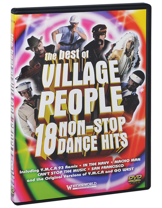 Village People: The Best Of Village People. 18 Non-Stop Dance Hits magnum live in concert