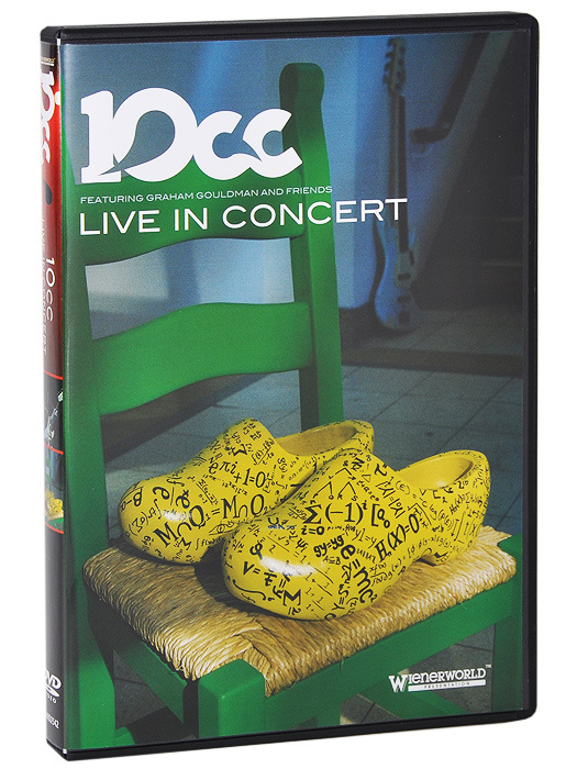 10CC:  In Concert Wienerworld Limited,New Wave Productions,David Finch Distribution LTD