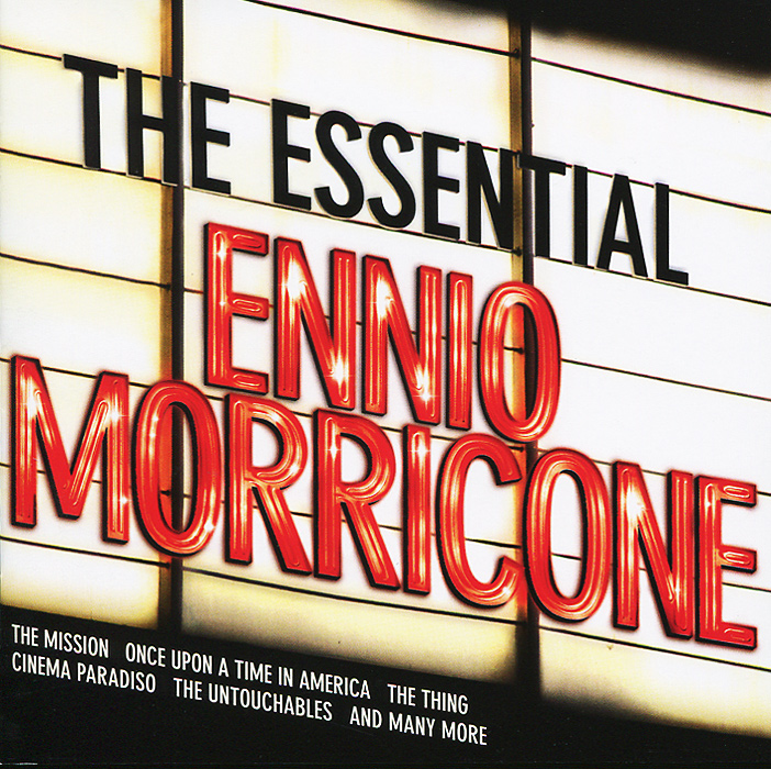 Эннио Морриконе Ennio Morricone. The Essential Ennio Morricone (2 CD) эннио морриконе ennio morricone the mission original soundtrack lp