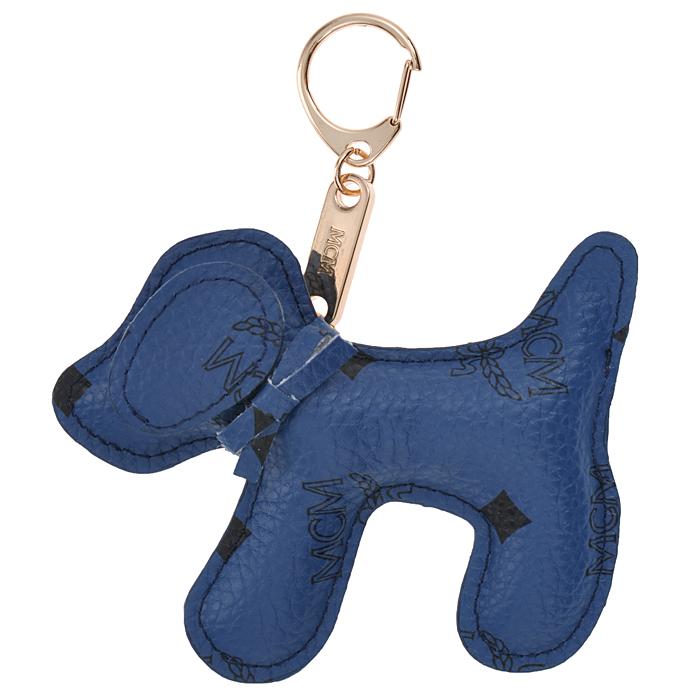 Подвеска-брелок Cheribags, цвет: синий. Собака 17Собака 17Подвеска-брелок Cheribags выполнена из высококачественной экокожи синего цвета в виде фигурки собаки. Подвеска оснащена металлическим карабином, благодаря чему ее можно прикрепить к сумке, рюкзаку или использовать в качестве брелока для ключей. Стильная вещица порадует любительницу ярких и необычных аксессуаров. Характеристики: Материал: винилискожа, металл. Цвет: синий. Размер подвески: 11,5 см х 9,5 см х 2 см.