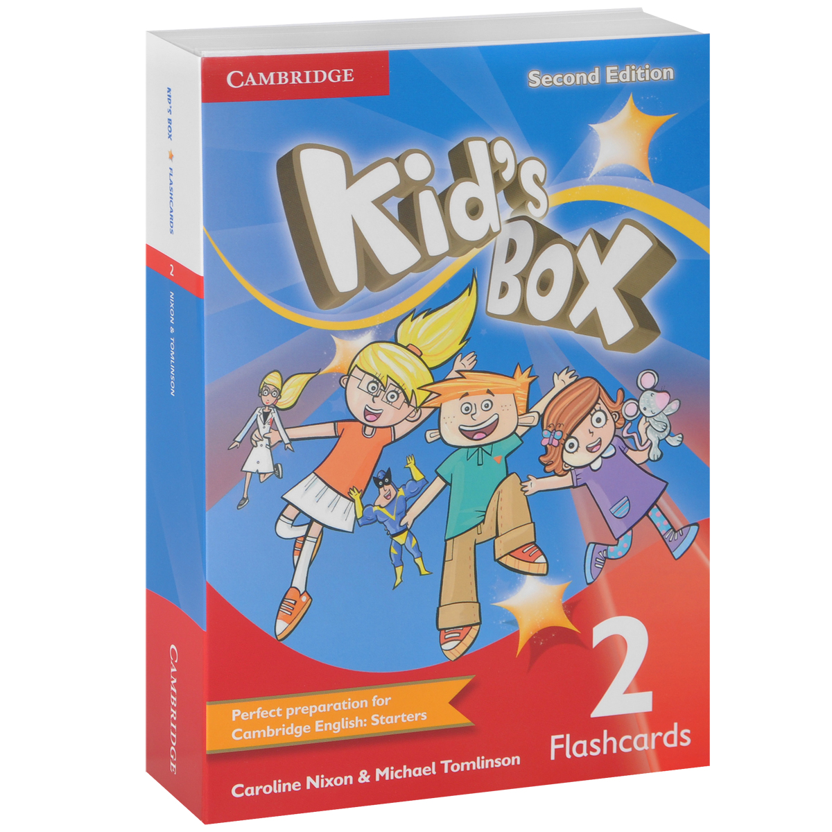 Kid's Box: Level 2: Flashcards (набор из 103 карточек) fourth grade vocabulary flashcards