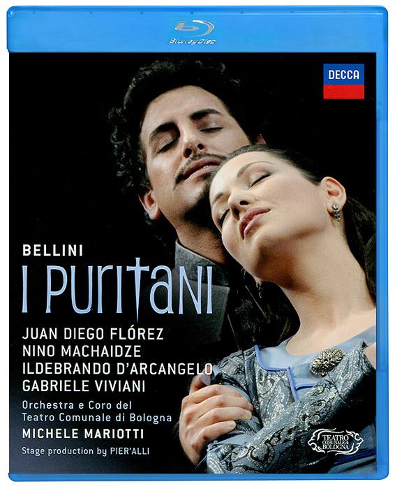 Michele Mariotti, Bellini: I Puritani (Blu-ray) juan diego florez bogotá