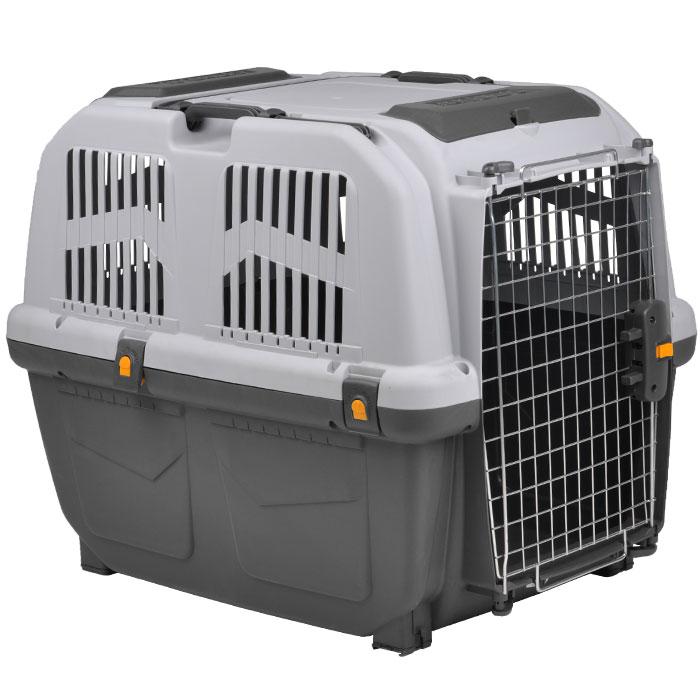 Переноска для животных MPS  Skudo 5 , цвет: серый, 79 см х 58,5 см х 65 см - Переноски, товары для транспортировки