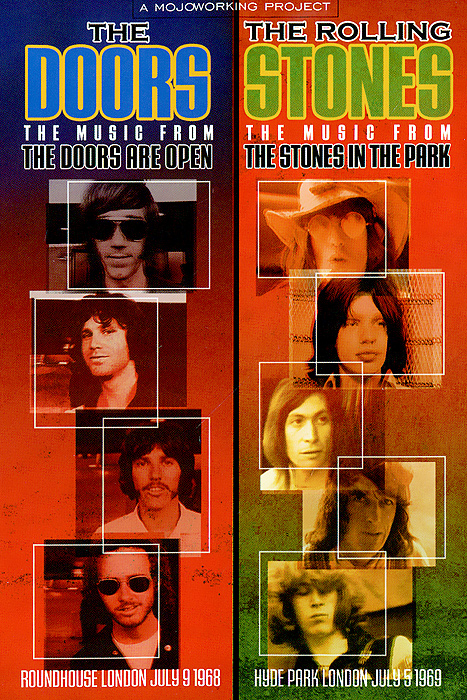 The Doors: The Doors Are Open / The Rolling Stones: The Rolling Stones In The Park cd диск the doors when you re strange a film about the doors songs from the motion picture 1 cd