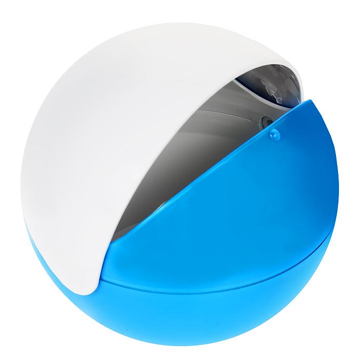 Сахарница Apollo Menthe, цвет: белый, голубойMNT-02 голубойСахарница Apollo Menthe с подвижной крышкой изготовлена из пищевого пластика. Она имеет круглую форму и эргономичный дизайн. Такая сахарница придется по вкусу и ценителям классики, и тем, кто предпочитает утонченность и изысканность. Сахарница послужит не только приятным подарком, но и практичным сувениром. Характеристики:Материал: пластик. Диаметр сахарницы: 12 см. Высота сахарницы: 11 см.