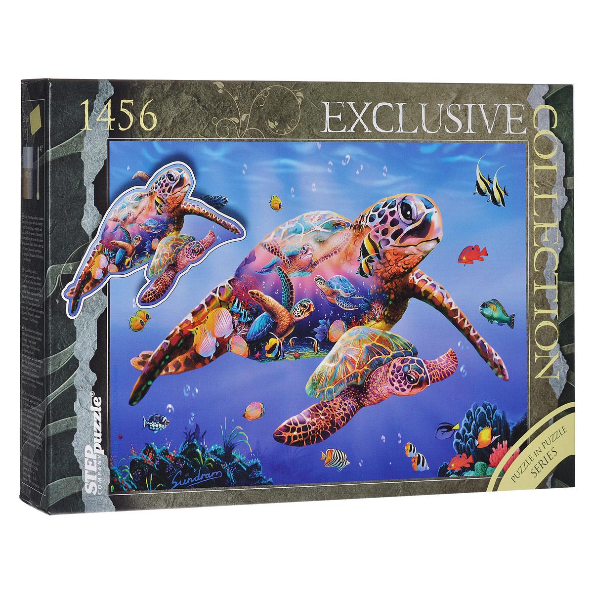 Черепаха. Пазл, 1456 элементов