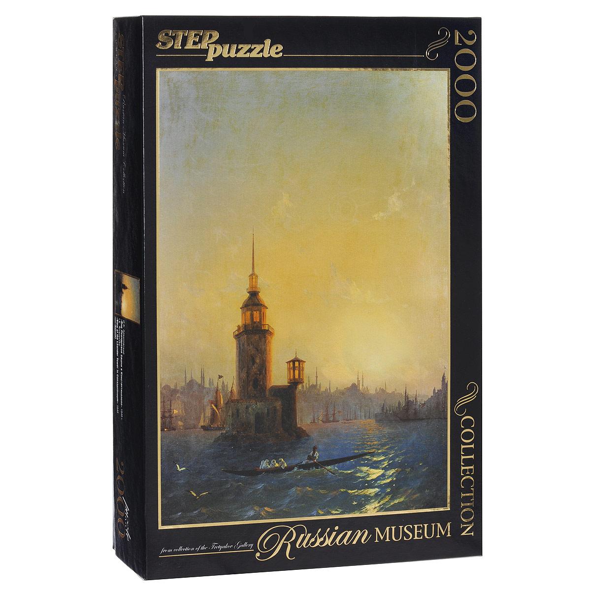 Вид Леандровой Башни в Константинополе (И. К. Айвазовский). Пазл, 2000 элементов