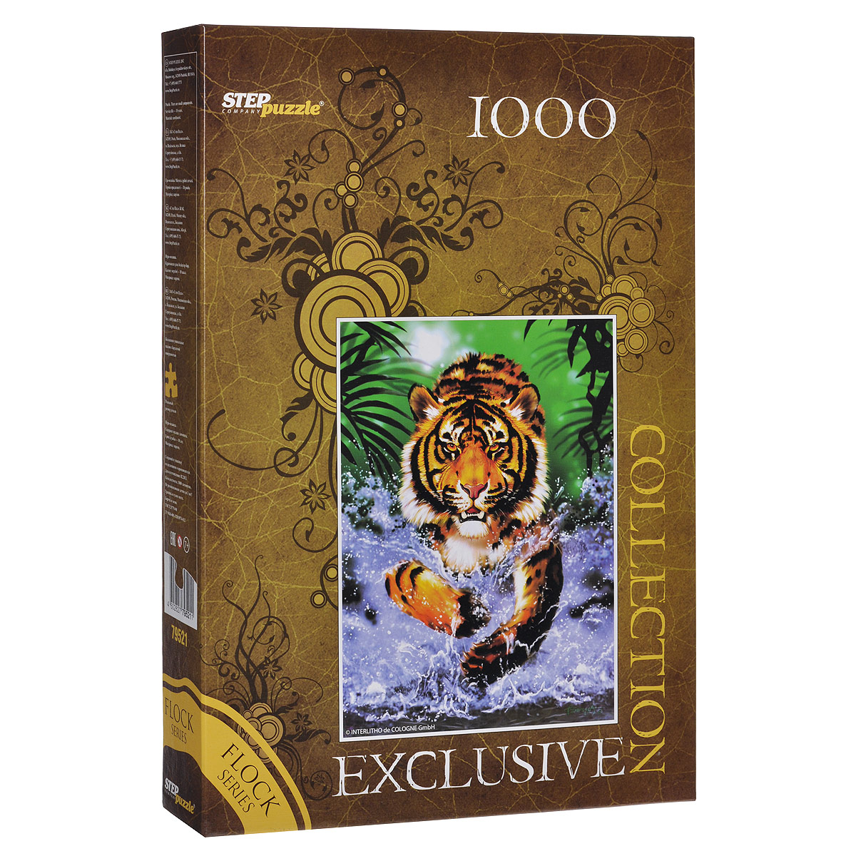 Тигр. Пазл, 1000 элементов. 79521
