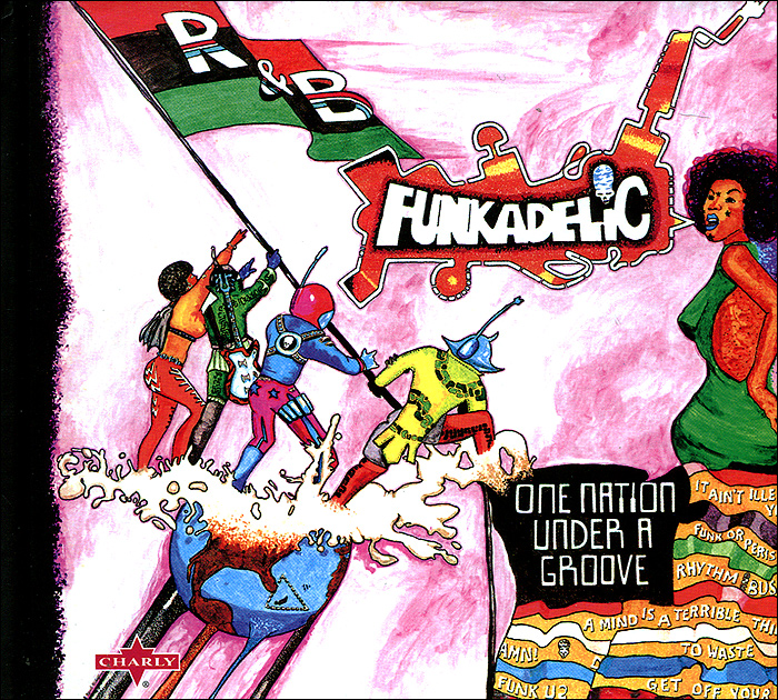 Funkadelic. One Nation Under A Groove (2 CD)