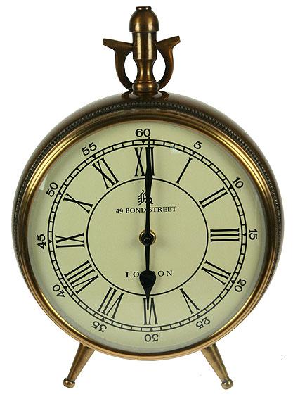 Часы настольные Win Max, цвет: бронзовый, 22 см х 9 см х 21 см часы пушка настольные 9 30 11см 1140005