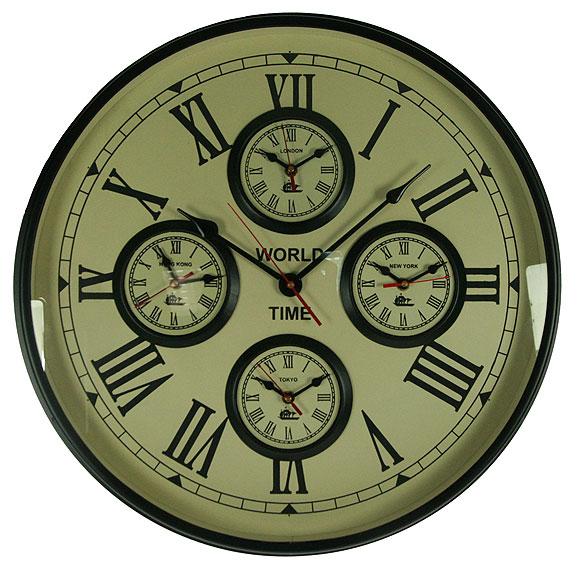 Часы настенные, 49 х 49 х 7 см. 3582735827Настенные часы, выполненные из латуни, имеют необычный циферблат Мировое время. Часы имеют три стрелки - часовую, минутную и секундную. Циферблат часов защищен стеклом.Такие часы созданы для людей, которые стремятся подчеркнуть свою индивидуальность в интерьере.Часы послужат отличным подарком для ценителя стильных и оригинальных вещей.