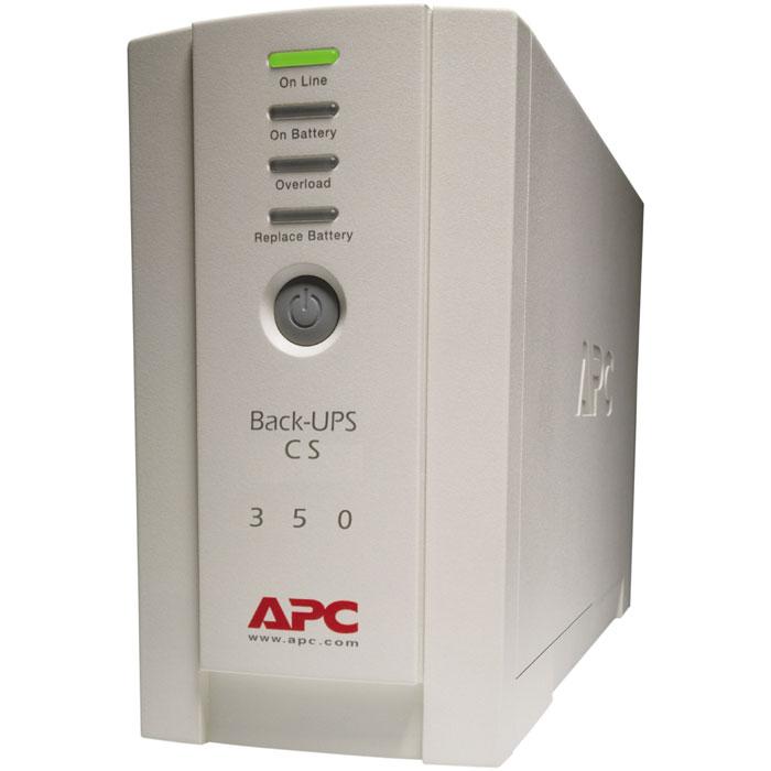APC BK350EI Back-UPS 350 ИБП - Источники бесперебойного питания (UPS)