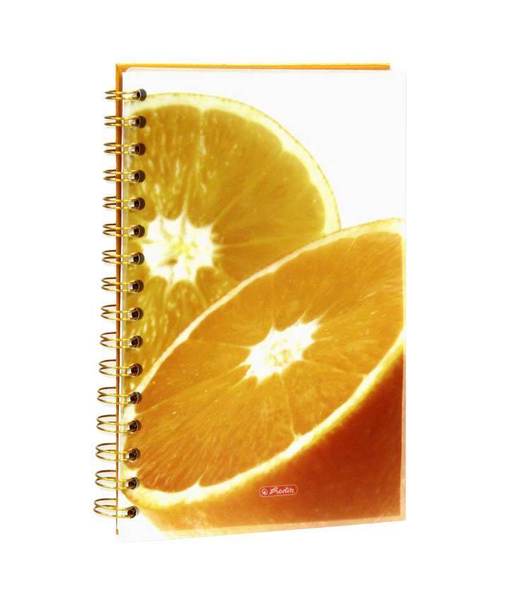 Блокнот Herlitz Orange
