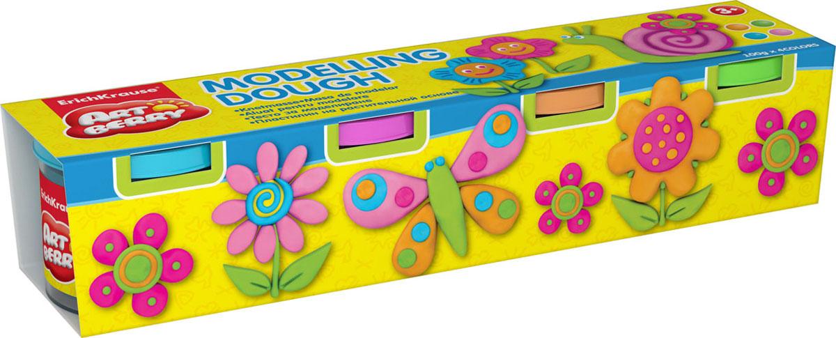 Пластилин на растительной основе Modelling Dough №2, 4 цвета, 100 г32722Пластилин на растительной основе Modelling Dough - увлекательнаяигрушка, развивающая у ребенка мелкую моторику рук, воображение итворческое мышление. Пластилин легко разминается, не липнет к рукам ирабочей поверхности, не пачкает одежду. Цвета смешиваются между собой,образуя новые оттенки. Пластилин застывает на открытом воздухе через 24часа. Набор содержит пластилин 4 цвета (оранжевый, розовый, салатовый, голубой). Пластилин каждого цветахранится в отдельной пластиковой баночке. С пластилином нарастительной основе Modelling Dough ваш ребенок будет часами занятигрой. Характеристики:Общий вес пластилина: 100 г. Изготовитель: Россия.