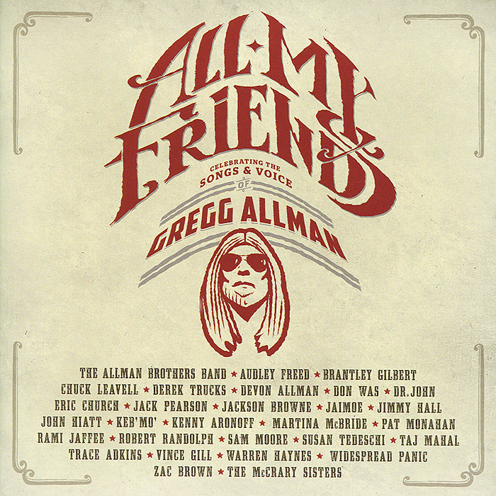 Gregg Allman. All My Friends (2 CD)