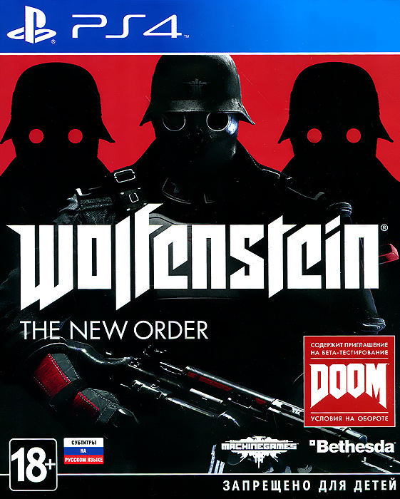 Zakazat.ru Wolfenstein: The New Order (PS4)