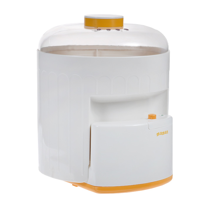 Стерилизатор электронный Maman  BY-03 , цвет: желтый - Все для детского кормления