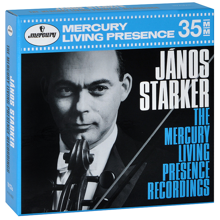 Janos Starker. The Mercury Living Presence Recordings (10 CD)