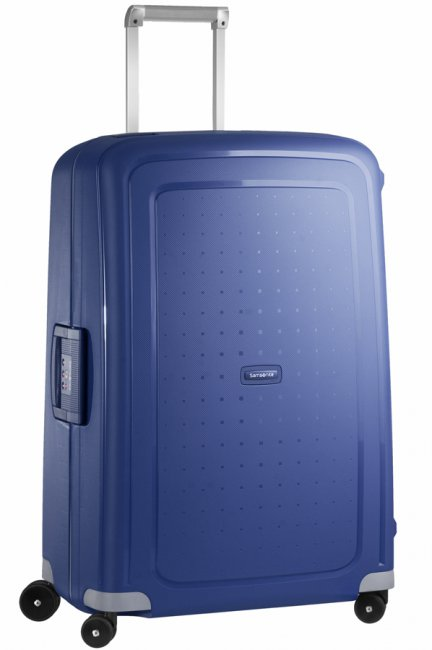 Чемодан Samsonite S'Cure, 102 л. 10U-01002, темно-синий чемодан samsonite чемодан 78 см base boost