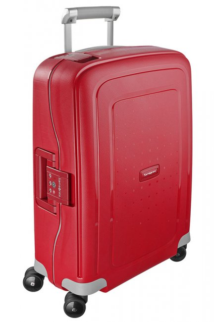 Чемодан Samsonite S'Cure, 34 л. 10U-10003, красный чемодан samsonite чемодан 78 см base boost