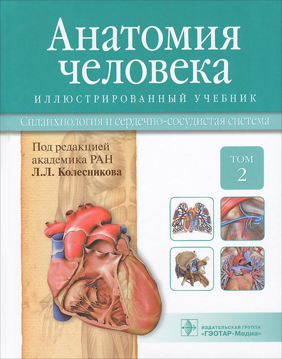 Анатомия человека. Учебник. В 3 томах. Том 2. Спланхнология и сердечно-сосудистая система
