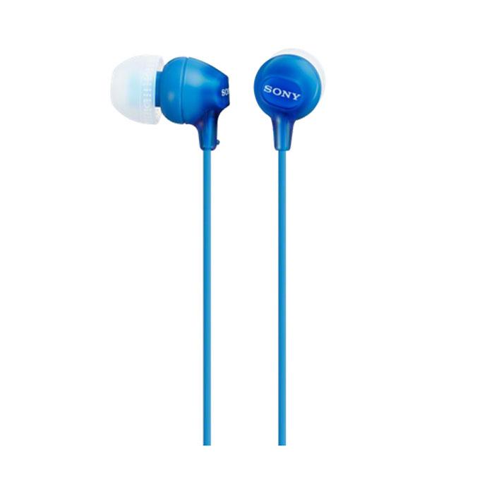 Sony MDR-EX15LPLI, Blue наушникиMDR-EX15LPLIУдобные силиконовые наушники-вкладыши Sony MDR-EX15LP прочно держатся на ушах. Небольшая масса позволяет носить устройство с собой. Наушники имеют несколько стильных цветовых решений, подберите к цвету вашего плеера или просто выберите любимый оттенок. Неодимовые мембраны диаметром 9 мм обеспечивают мощное, сбалансированное звучание. Удобная посадка обеспечивает долгое, комфортное ношение. Качественные динамики передают чистый звук с выразительными низами и звонкими верхами. Sony MDR-EX15LPB отлично подходят как для прослушивания музыки всех жанров, радио, так и для просмотра видеороликов и фильмов. Данная модель совместима с мобильными устройствами, имеющими аудиовыход 3.5 мм.