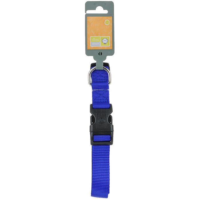 Ошейник для собак Hunter Smart Ecco L, цвет: синий шлейка hunter smart harness ecco sport rapid l 25 54 87 59 100 см нейлон черная для собак