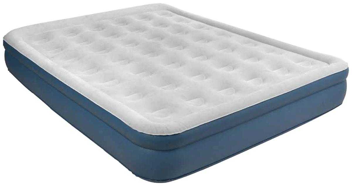 Кровать надувная RELAX QUEEN с электрическим насосом, 203 х 157 х 38 см кровать надувная односпальная intex prime comfort со встроенным насосом 220в 64444