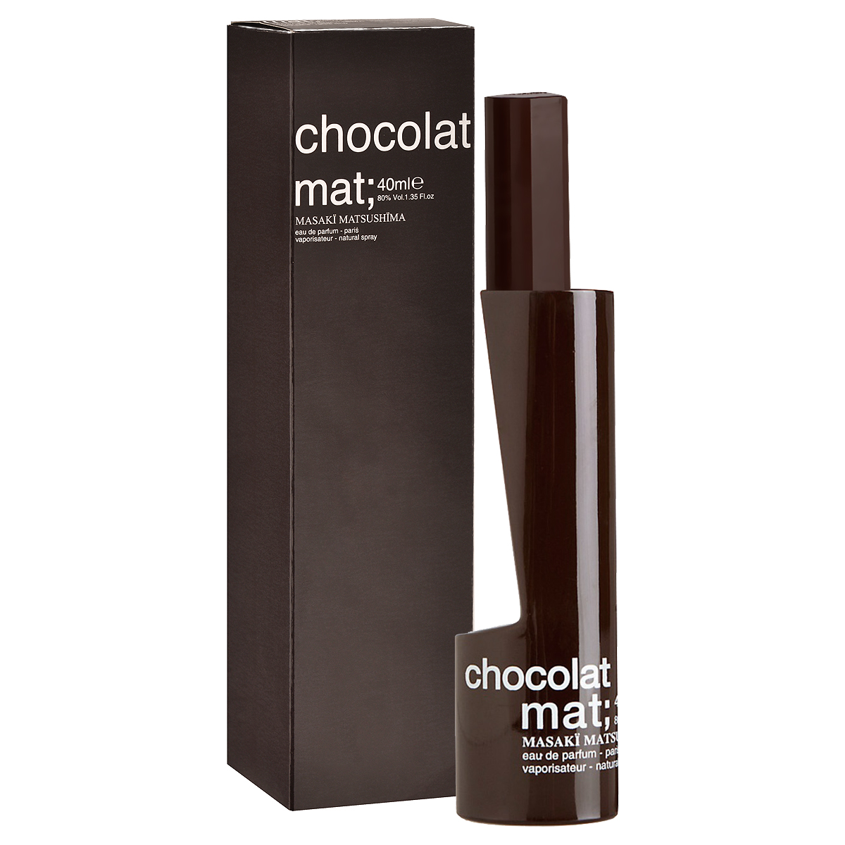 Masaki Matsushima Парфюмерная вода Mat Chocolat, женская, 80 мл950693Аромат Mat Chocolat от Masaki Matsushima создан для молодой, очаровательной женщины, романтичной и немного ветреной. Она обожает сладости - их аппетитные, шаловливые аккорды - простая возможность почувствовать себя озорной девчонкой. Она без ума от шоколада - он здорово поднимает настроение, она выбирает Mat Chocolat - и аура любимых ароматов сопровождает ее повсюду, куда бы она ни направлялась. Отличный способ создать настроение на весь день. Причем не только себе…Классификация аромата: цветочно-восточный, ориентальный. Пирамида аромата: Верхние ноты: черная смородина, грейпфрут, арбуз, роза. Ноты сердца: темный шоколад, какао. Ноты шлейфа: сандал, кокос, мускус. Ключевые словаТеплый, сладкий, радостный!Самый популярный вид парфюмерной продукции на сегодняшний день - парфюмерная вода. Это объясняется оптимальным балансом цены и качества - с одной стороны, достаточно высокая концентрация экстракта (10-20% при 90% спирте), с другой - более доступная, по сравнению с духами, цена. У многих фирм парфюмерная вода - самый высокий по концентрации экстракта вид товара, т.к. далеко не все производители считают нужным (или возможным) выпускать свои ароматы в виде духов. Как правило, парфюмерная вода всегда в спрее-пульверизаторе, что удобно для использования и транспортировки. Так что если духи по какой-либо причине приобрести нельзя, парфюмерная вода, безусловно, - самая лучшая им замена. Товар сертифицирован.