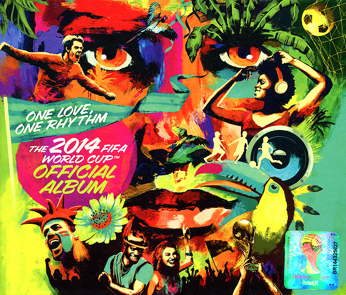 One Love, One Rhythm. The 2014 Fifa World Cup Official Album. Limited Edition цена 2017