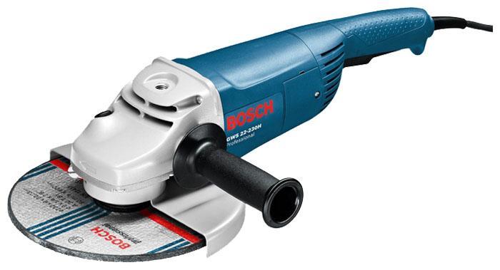 Угловая шлифмашина Bosch GWS 22-230 JH угловая шлифовальная машина bosch gws 20 230 h 0 601 850 107
