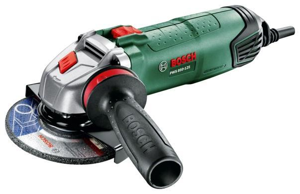 все цены на Угловая шлифмашина Bosch PWS 850-125 (06033A2720) онлайн