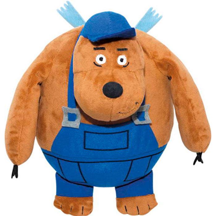 Мягкая игрушка Летающие звери Медведь Тэд, цвет: коричневый, 25 см летающие шары