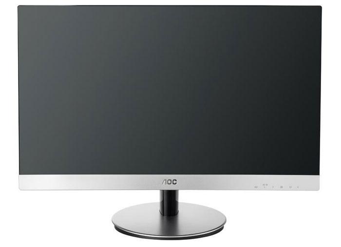 где купить  AOC I2369V/01, Silver Black монитор  дешево