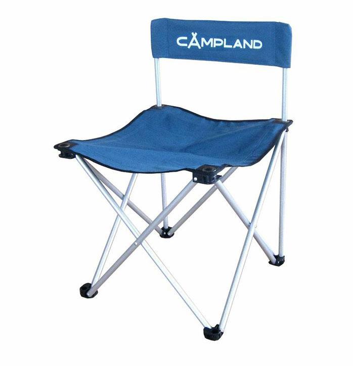Кресло складное CamplandBC016Складное кресло Campland с широким сиденьем станет незаменимым предметом в походе, на природе, на рыбалке, а также на даче. Изготовлено из полиэстера с водоотталкивающей пропиткой. Каркас выполнен из стали. Выдерживает нагрузку в 120 кг.