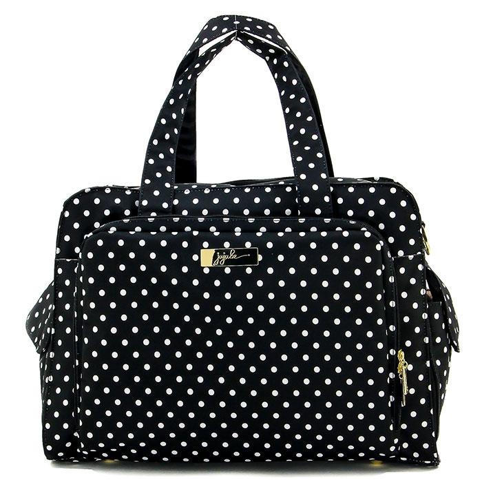 Дорожная сумка для мамы Ju-Ju-Be Be Prepared Legacy. The Dutchess, цвет: черный, белый бюстгальтер oodji