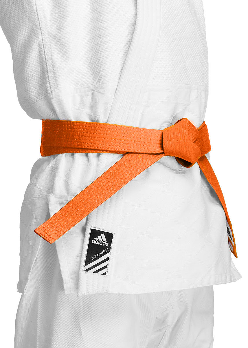 Пояс для единоборств adidas Club, цвет:  оранжевый.  adiB220.  Длина 280 см Adidas