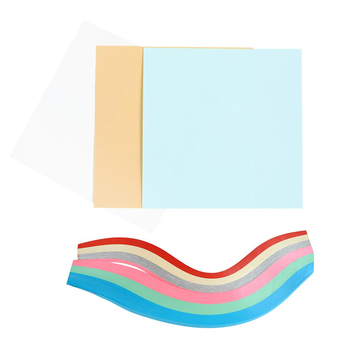 Набор для квиллинга поможет совершенствовать Ваше мастерство  в создании композиций из скрученной бумаги.  Набор  включает все необходимые предметы для поделок своими руками: бумага для квиллинга шести цветов, бумага для фона, схема для поделок, паспарту и жесткая подложка.  Вам могут дополнительно понадобиться клей, ножницы, лекало и другие инструменты для квиллинга.
