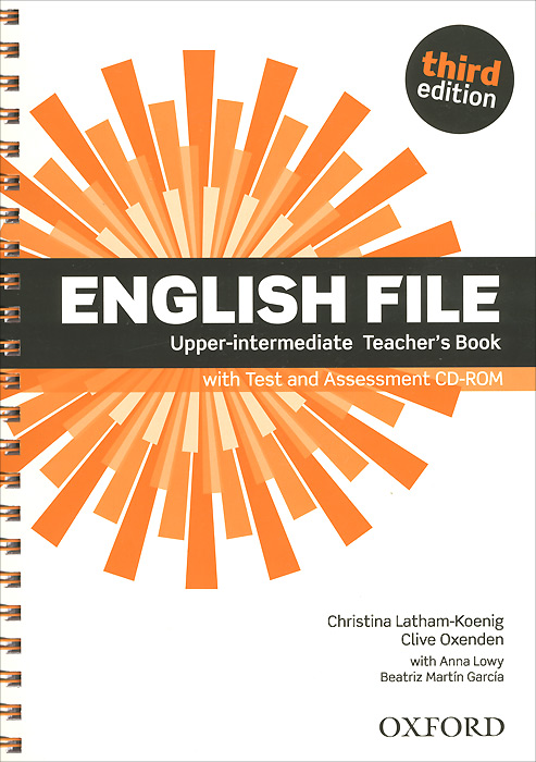 English File: Upper-intermediate: Teacher's Book with Test and Assessment (+ CD-ROM) new english file upper intermediate workbook cd rom