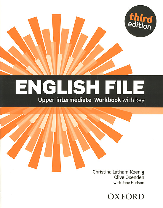 English File: Upper-Intermediate: Workbook with Key new total english intermediate workbook with key cd